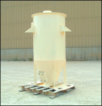 Round Feeder Hopper