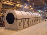 Fabricated Furnace Kiln Steel Shell