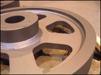 Fabricated Large Gear Blank